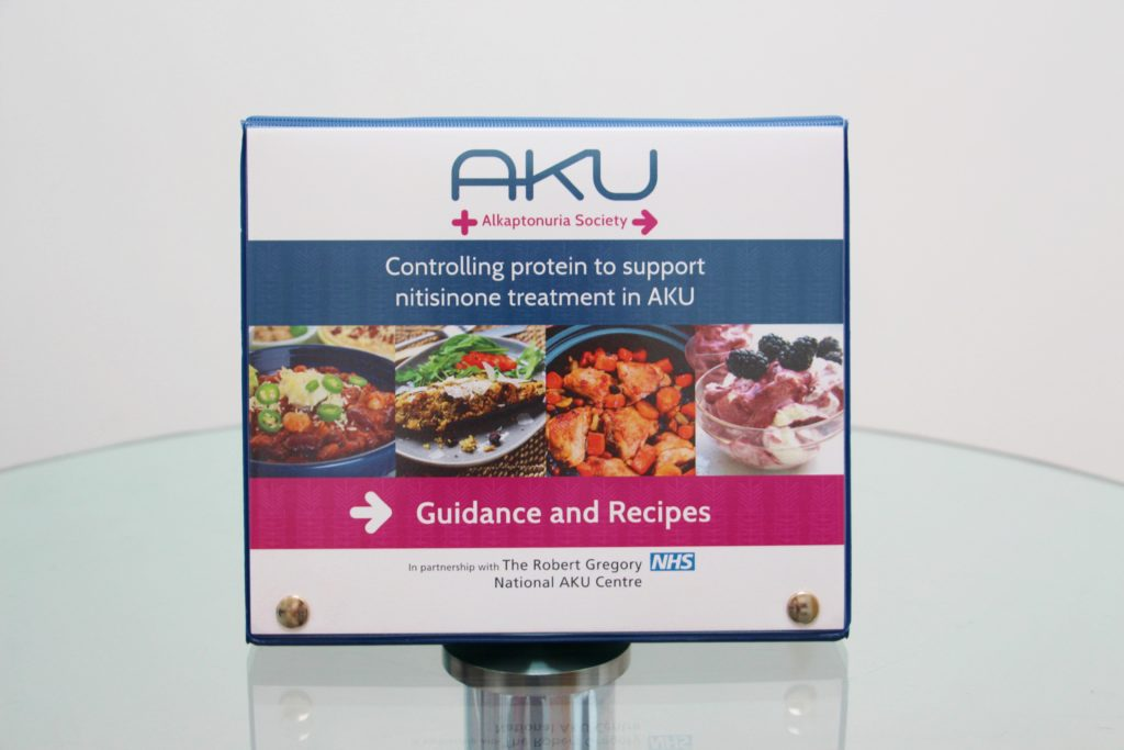 The AKU recipe book for controlled protein. for nitisnone patients with alkaptonuria