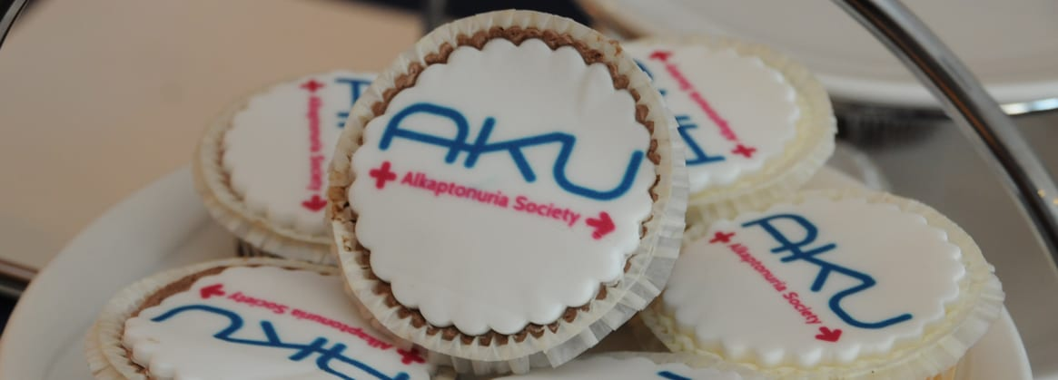 some A K U cupcakes