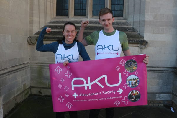 AKU runner for the cambs half